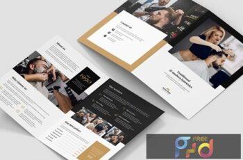 Brochure – Barber Shop Bi-Fold 3