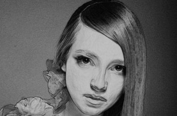Pencil Drawing Photoshop Actions 23969859 2