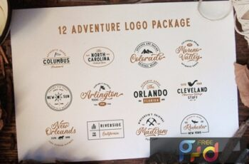 12 Adventure Logo Package 5