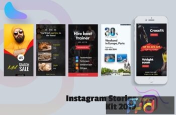 Creative Instagram Stories Kit 2019