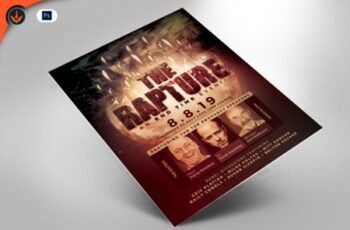 The Rapture Flyer Template 1536965 5