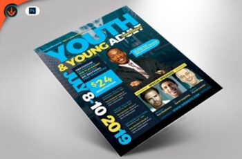 Youth & Young Adult Conference Flyer 1536969 2