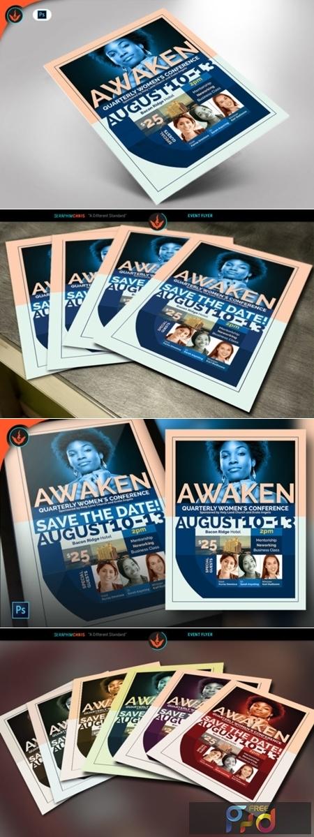 Awaken Women's Conference Flyer 1536972 1