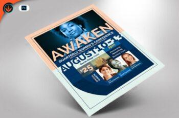 Awaken Women's Conference Flyer 1536972 3