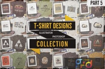 T-Shirt Designs Retro Collection Part 5 Vintage 6