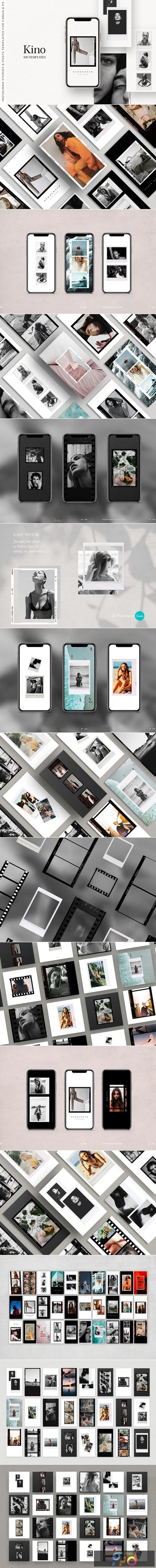 100 Film Frames & Instant Templates 3848678 1
