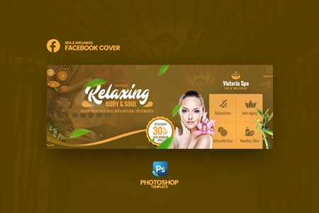 Facebook Cover Psd Template Vol2 Freepsdvn