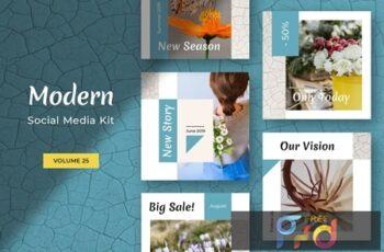 Modern Social Media Kit (Vol. 25) 2