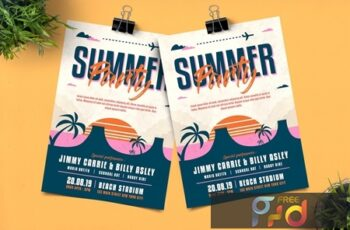 Summer Party Flyer M38EBS2 4