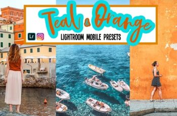Teal and Orange Lightroom Presets 3816196 5