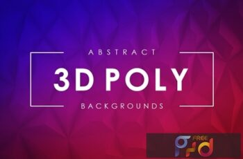 3D Poly Backgrounds 8