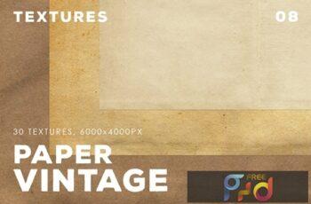 30 Vintage Paper Textures 08 3