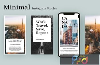 Minimal Travel Instagram Stories 1