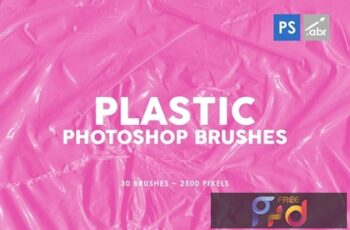 Plastic Photoshop Brushes 03 4