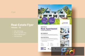 Real Estate (Apartment Sales) Flyer Template V-10 5
