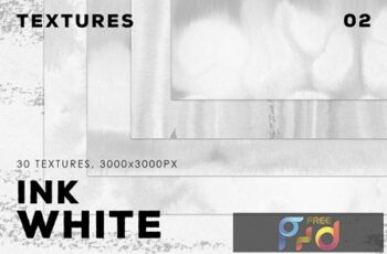 White Ink Textures 02 4
