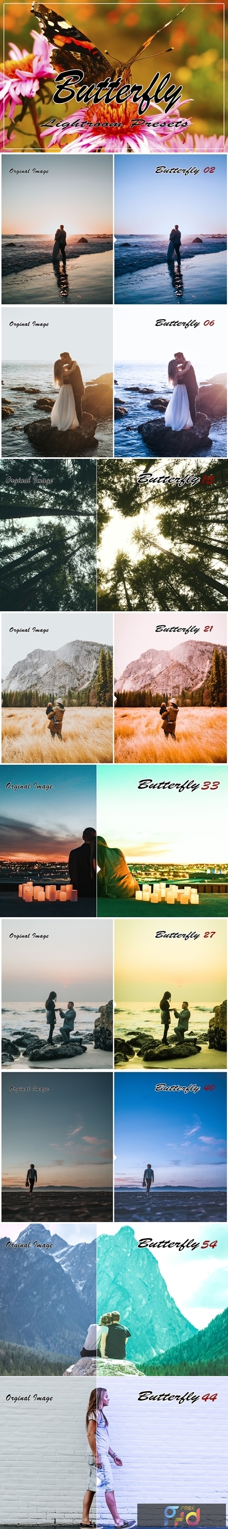 Butterfly Instagram Blogger Lightroom Presets 1