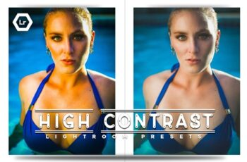 High Contrast Lightroom Presets 7