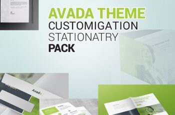 Avada Theme Customization Stationery Pack 7