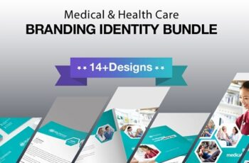 Medical And Health Care Branding Identity 3602126 3