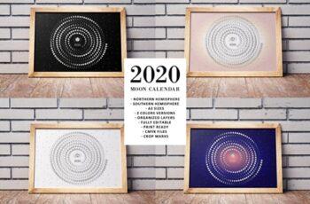 Moon Calendar 2020 3900498 6