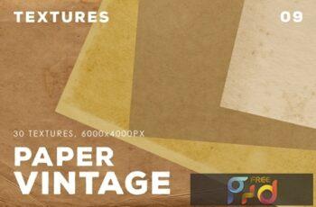 30 Vintage Paper Textures 09 4