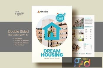 Double Side Real-Estate(Apartment Sales) Flyer V17 6