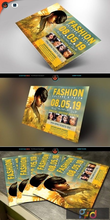 Tropical Fashion Show Flyer Template 1576468 1