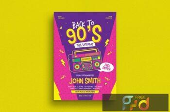 90s Radio Music Flyer 6