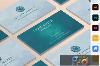 Beauty Market Business Card 2