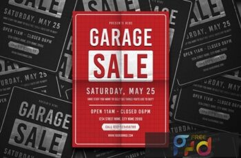 Garage Sale Flyer 6