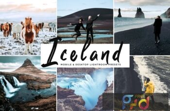 Iceland Mobile & Desktop Lightroom Presets KGHEX5J