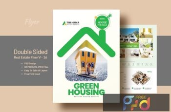 Double Side Real-Estate(Apartment Sales) Flyer V16 7