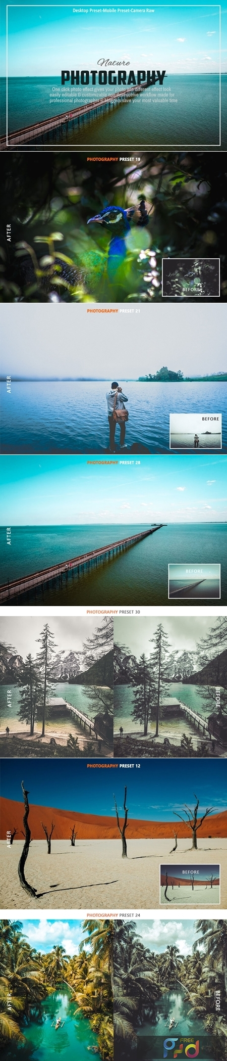 Nature Photography Lightroom Preset Collection 3603258 1