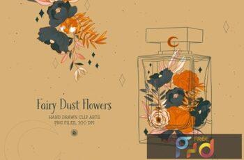 Fairy Dust Flowers 3