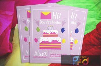 Birthday Flyer AS4Z3DX 6