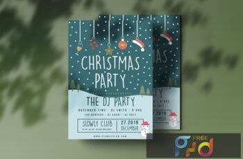 Christmas Party Flyer E6YXFPZ 2