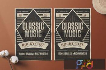 Classic Music Flyer 7PQXLYE 3