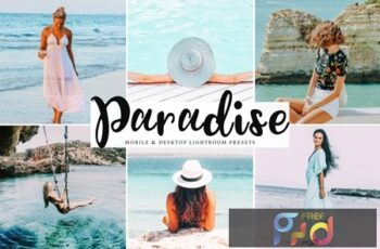 Paradise Mobile & Desktop Lightroom Presets LJAVFN7 3