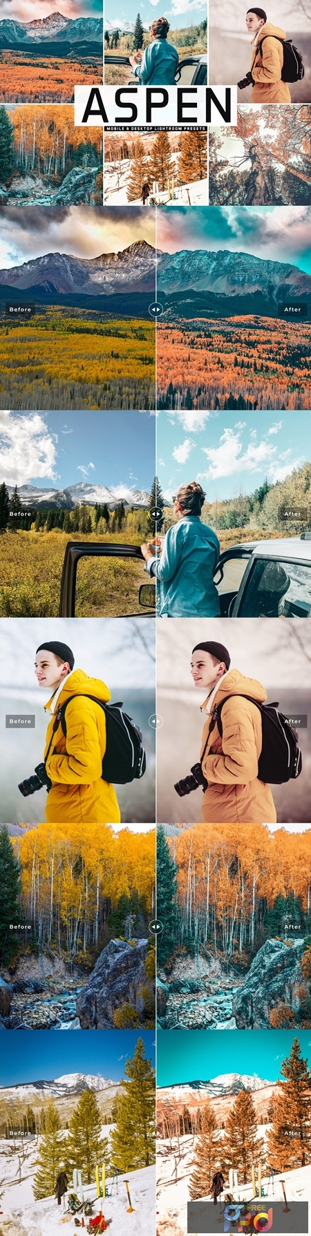 Aspen Mobile & Desktop Lightroom Presets 3927944 1
