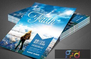 Author of Our Faith Church Flyer 3898529 5
