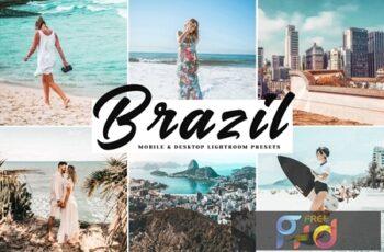 Brazil Mobile & Desktop Lightroom Presets D9KFCP4 5