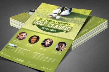 Celebrity Golf Classic Flyer 3917006 7