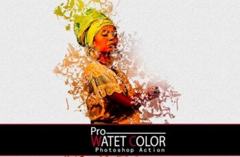 Pro Water Color Photoshop Action 3602573 3