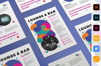 Lounge Bar Flyer 3923923 3