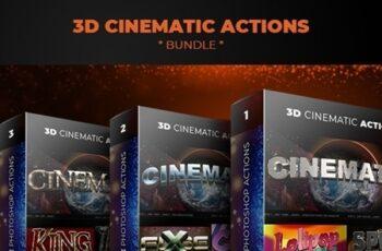 3D Cinematic Actions - Bundle 23986338 5