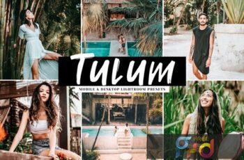 Tulum Mobile & Desktop Lightroom Presets SXC28ZE 2