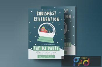 Chrismas Celebration flyer 2 A572BPY 3