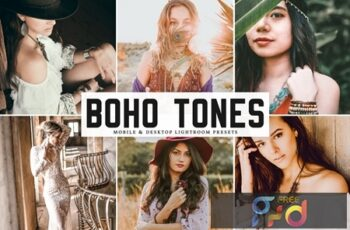 Boho Tones Mobile & Desktop Lightroom Presets K9E8UHP 3