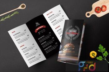 Trifold Restaurant Menu Template 7X3VJPB 5